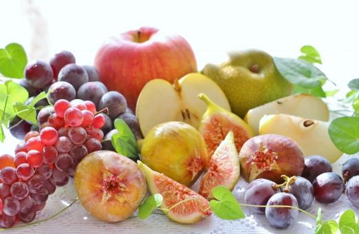 フルーツ盛りだくさん