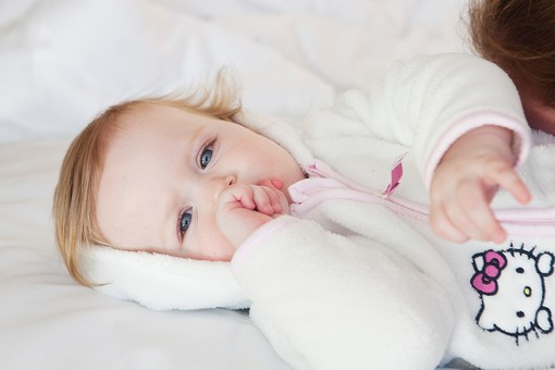 白人の赤ちゃん