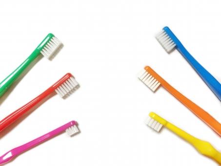 家族の歯ブラシ